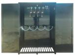 Рампа разрядная РРБ-4Ш в шкафу с манометром и продувочным вентилем вентилеметром и